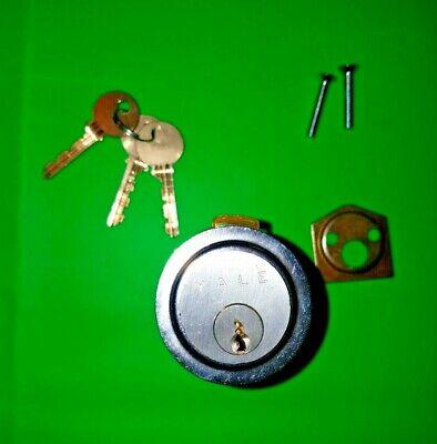Yale Lock 1109 Rim Cylinder 6-pin Us26d 3 Cut Keys Locksmith