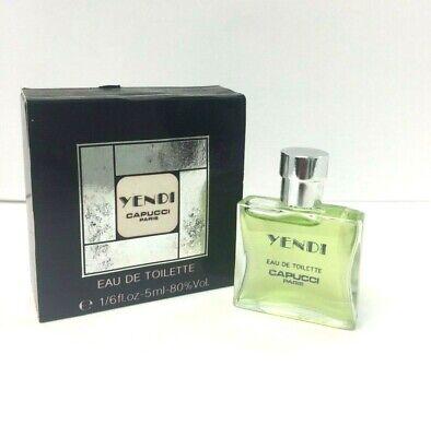 - Yendi by Capucci  1/6 oz - 5 ml  EDT  mini men's cologne slightly damage box