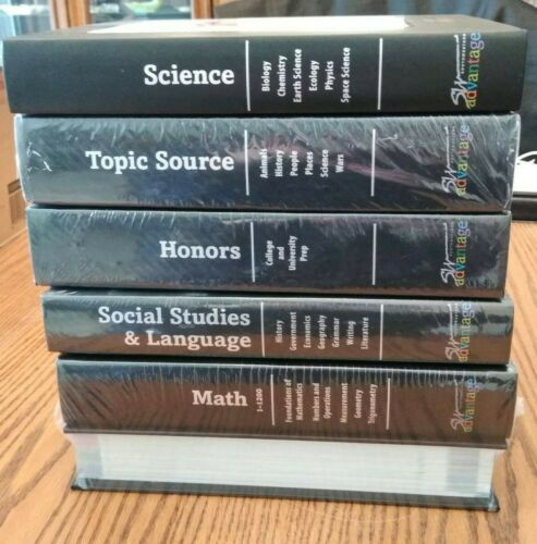Lot 6 Southwestern Advantage Study Books Encyclopedia Set 5 ARE NEW/SEALED! $750