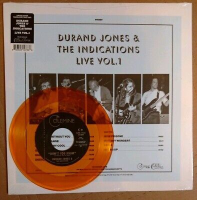 Durand Jones & The Indications - Live Vol. 1 LP + Don't You Know 45 7