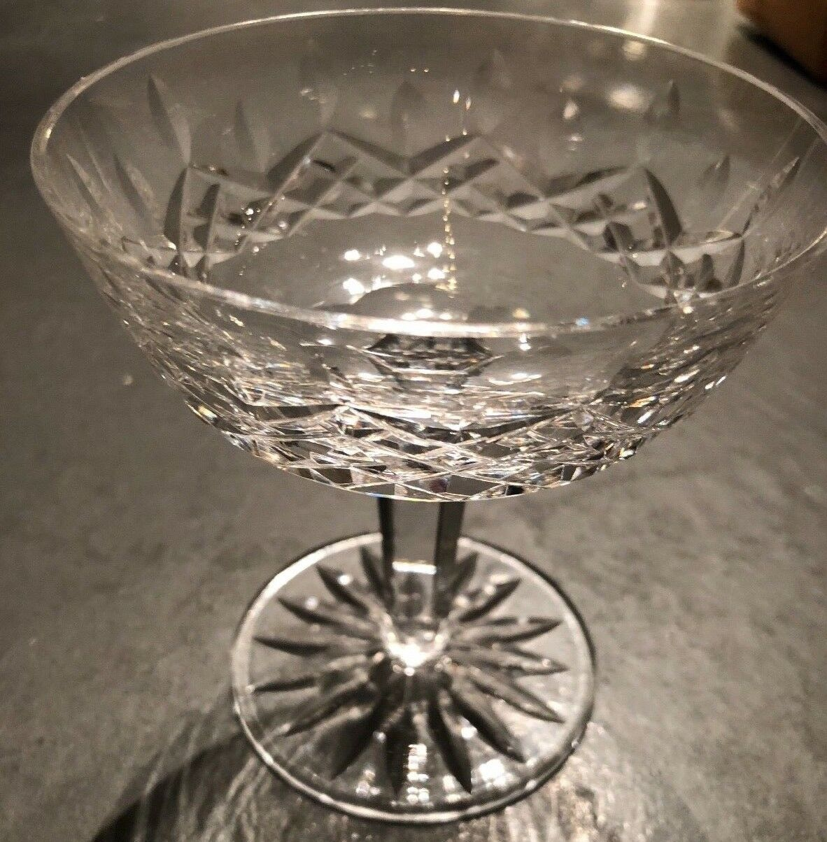 Waterford Crystal Lismore Sherbert Champagne Glass
