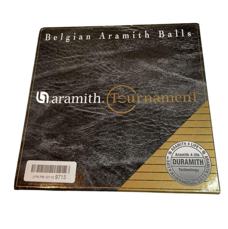 Belgian Aramith Tournament Billiard Pool Balls (New just box wear)