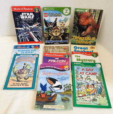 Lot of 11 Kids Books Level 2 Educational I Can Read Boys Interest