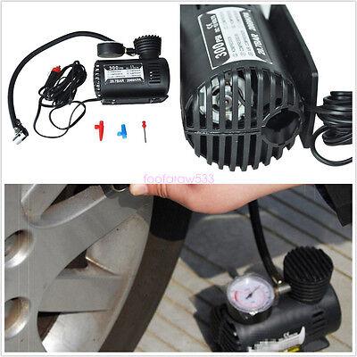 Universal Car Inflatable Pump Portable Mini Air Pump Compressor DC 12V 300 PSI