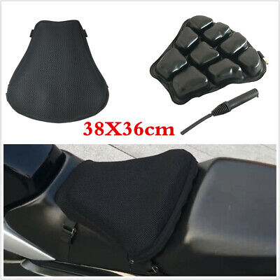 Universal Air Pad Motorcycle Airbag Seat Cushion Cover With Pump Accessories