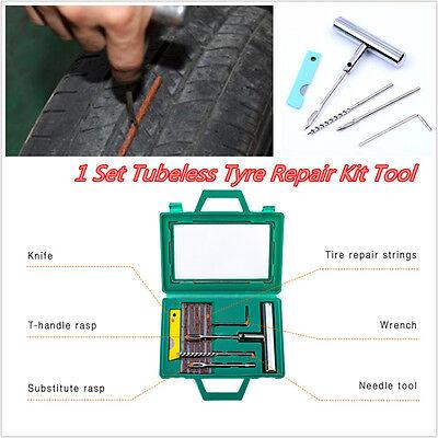 Arrow Fixed Wheel - 1 Set Car Tyre Repair Kit Tubeless  Tire Wheel Puncture Rasp Patch Fix Hand Tool