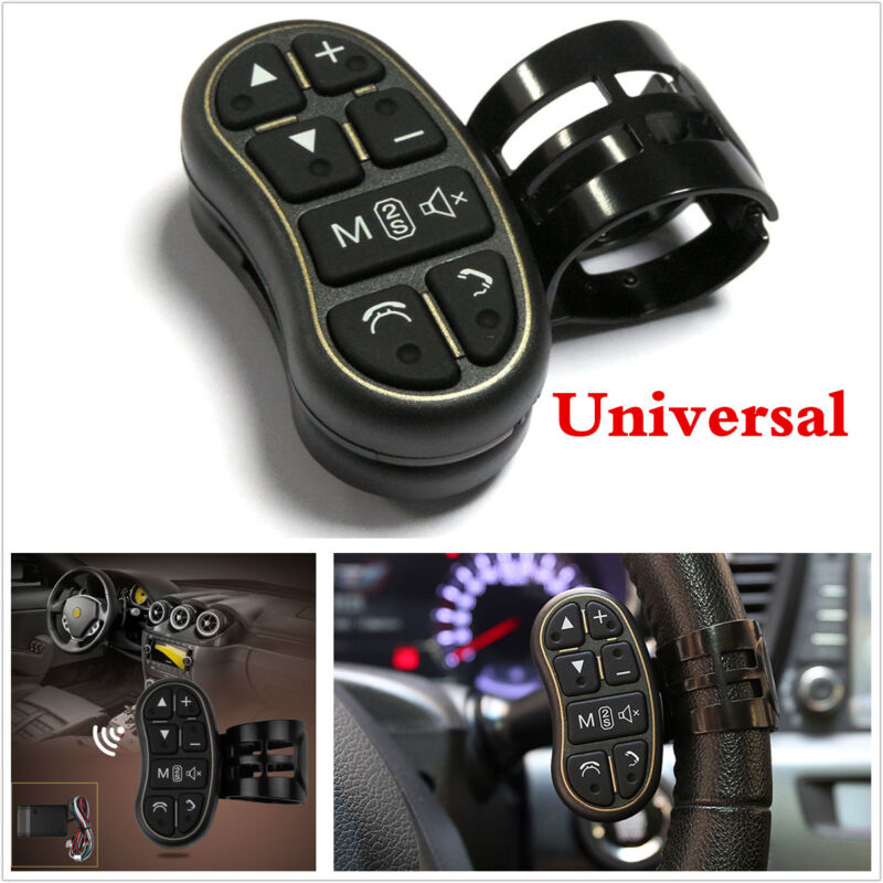 Car DVD GPS Player Steering Wheel Remote Controller with Audio Volume Bluetooth