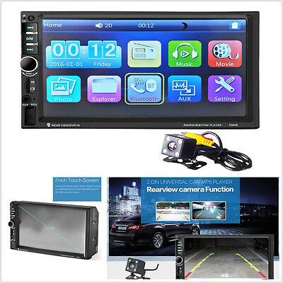 7 inch Bluetooth Car MP5 Video Player In Touch Screen MP3 USB TF AUX