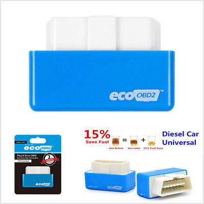 Portable Mini Diesel Car Autos Truck Eco OBD2 Economy Fuel Saver Tuning Box Chip Diesel Truck Fuel Economy