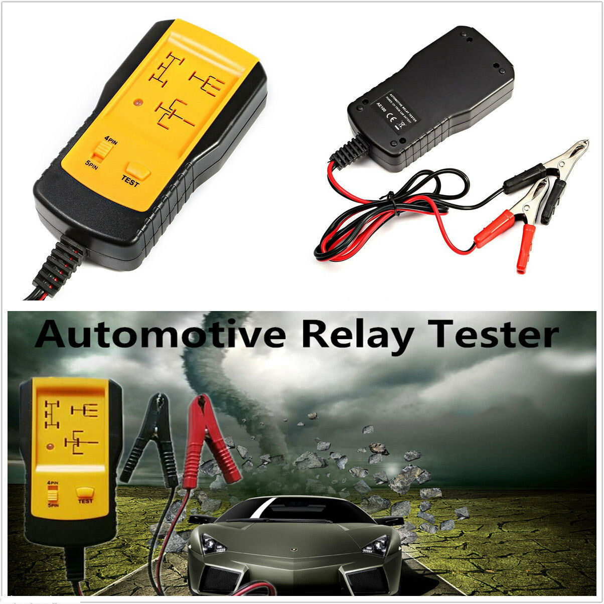 Universal Electronic Automotive Relay Tester V Car Battery - How to test 12v 5 pin relay