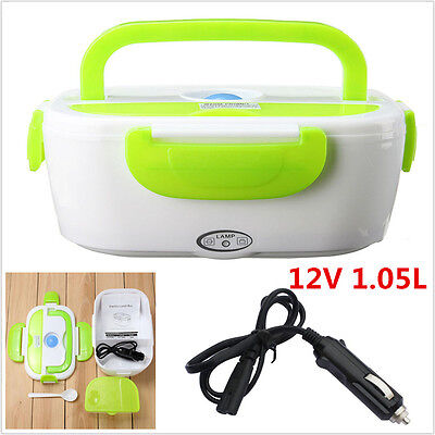 12V Portable  Electric Heated Outdoor Travel Car Food Warmer Heater Lunch Box