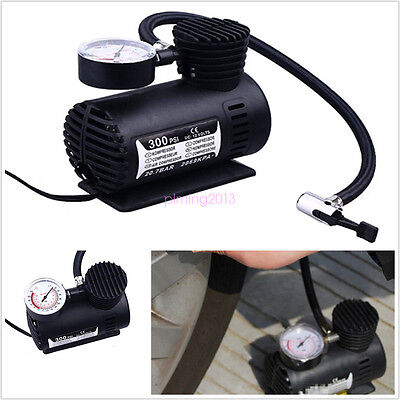 300 PSI  Air Compressor 12V Portable Acura Electric Pump Tire Inflator w/Gauge