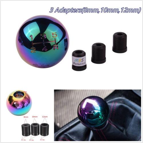 High Quality Aluminum Colorful Round Ball Car Auto Shifter Gear Stick Shift Knob