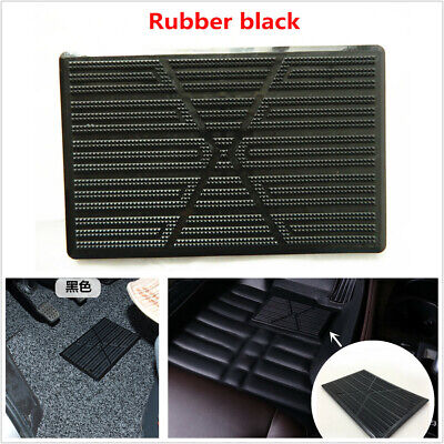 Car Accessories Floor Carpet Pad Heel Foot Plate Pedal Pad All weather Universal