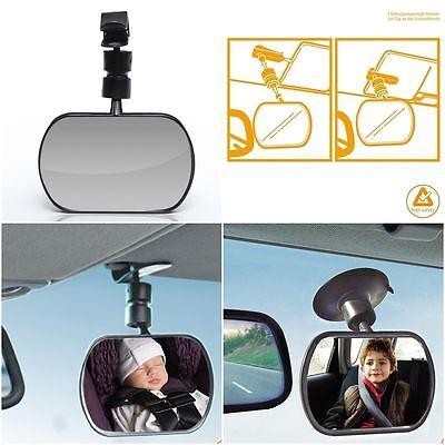 DIAGO Baby Spiegel fürs Auto mit 2 Befestigungsmöglichkeiten Rückspiegel