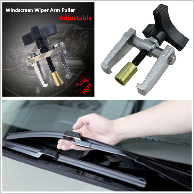 Portable Adjustable Car Windscreen Window Wiper Arm Remover Puller Repair Tool