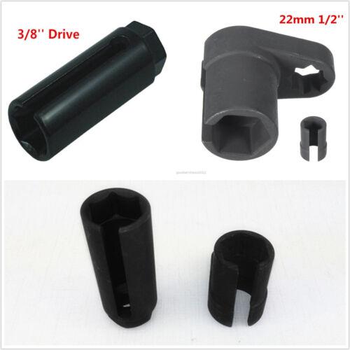 22mm 3/8'' 1/2'' Drive DIY Black Steel Car Truck Oxygen Sensor Socket Wrench Kit