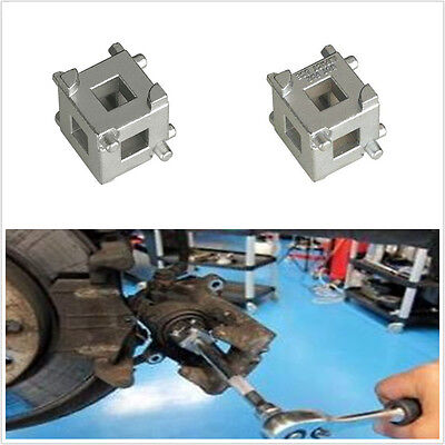 "NEW Rear Disc Brake Caliper Piston Rewind/Wind Back Cube Tool 3/8"" Drive Caliper"