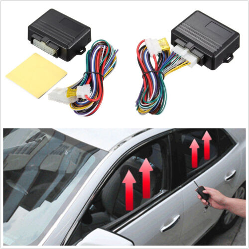 Car Automatic Window Closer for 4 Doors Car Alarm Module Security Systems Kits