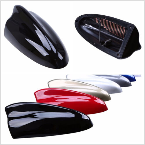 High Quality ABS Super Shark Fin Antenna Roof FM Signal Amplifier Decor Sticker