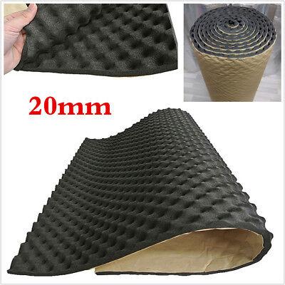 Profess 20mm Car Bonnet Sound Proofing Hood Insulation Deadener Mat Foam Shield