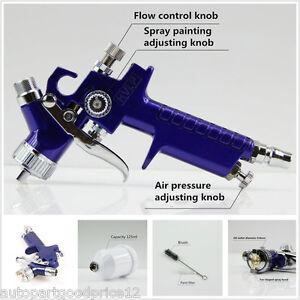 0.8mm Mini HVLP Touch Up Paint Sprayer Auto Car Detail Spot Repair Air Spray Gun