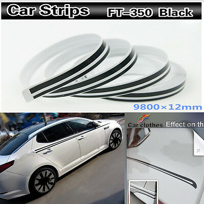 12mm 12 32 Feet Tape Vinyl Decal DIY Sticker for Car body motorcycles boats