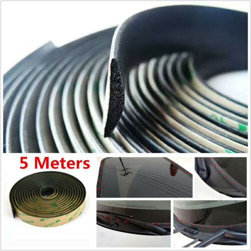 5M Waterproof Sealed Strips For Car Front Windshield Sunroof Triangular Window