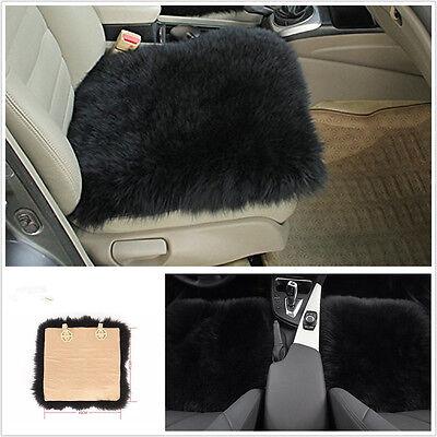 Portable Sheepskin Long Wool Vehicle Seat Chair Soft Cushion Breathable Wam Pad