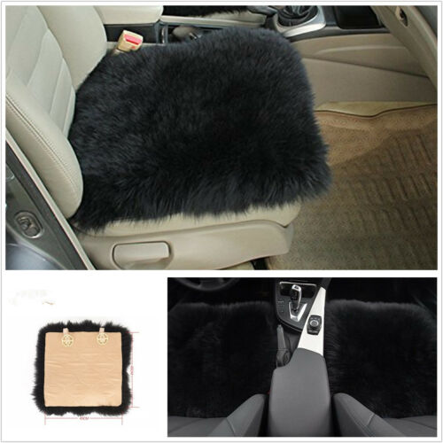 Portable Sheepskin Long Wool Vehicles Seat Chair Soft Cushion Breathable Wam Pad
