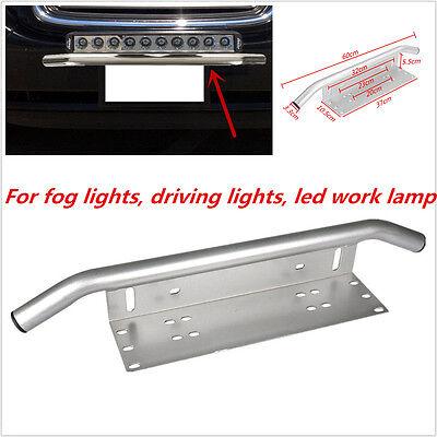 Car Offroad Led Light  Fog Light Front Bumper License Plate Mount Bracket Holder