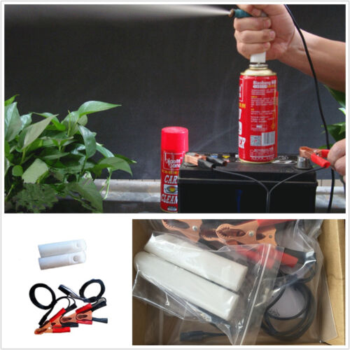 Professional DIY Car Autos Fuel Injector Flush Cleaner Adapter Cleaning Tool Kit