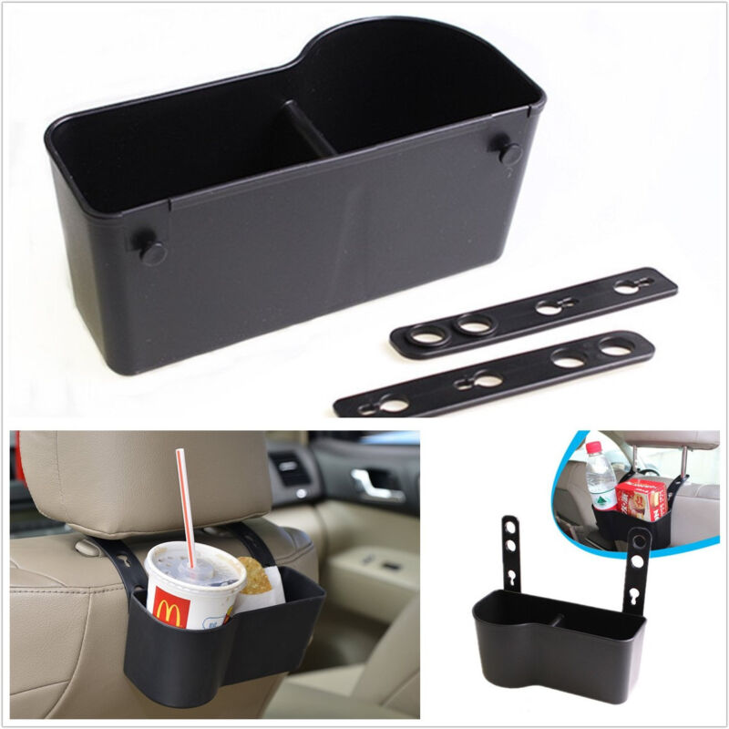 Portable Multifunction Autos SUV Interior Seat Back Drink Cup Holder Storage Bag