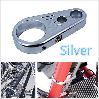 SILVER COLOR METAL MOTORCYCLE 1 25MM HANDBAR BRAKE CLUTCH CABLE WIRE
