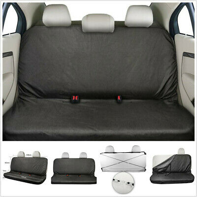Car Seat Cover Rear Back Protector Cover Waterproof Dustproof 600D Oxford Cloth