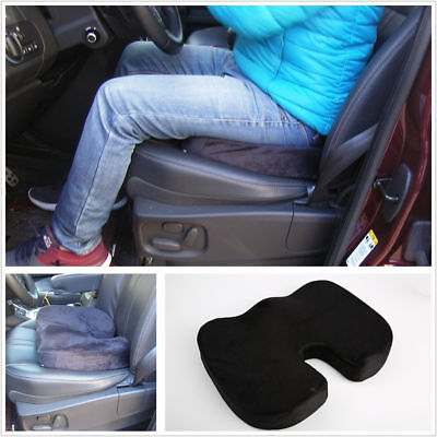 Ortho Wedge Cushion - Black Ortho Wedge Cushion Car Thicken Seat Pad Pillow Protect Lower Back Spinal
