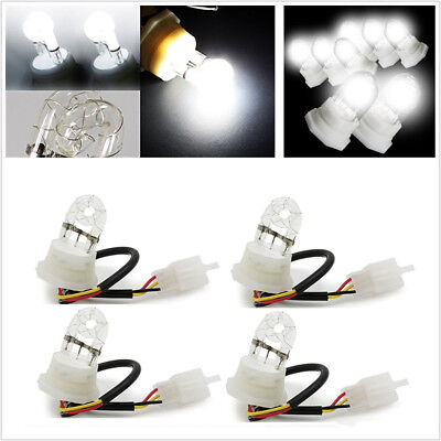 4pc 20W HID Hide A Way Flash Strobe Spare Replacement Bulbs Tube Light 12V White for sale  China