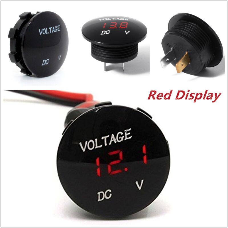Car Truck DC 0-33V Red LED Digital Voltmeter Voltage Panel Meter Display Gauge