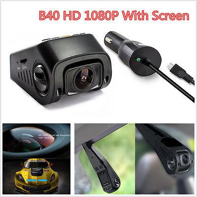 B40 Capacitor Car Dash Camera DVR HD 1080P Vehicle Video Recorder Cam G-Sensor