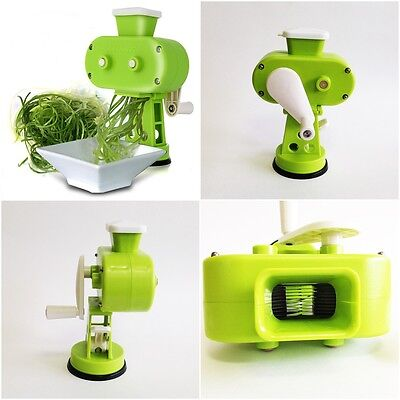 Vegetable Shallot Green onion Slicer Turning knob handle with suction plate