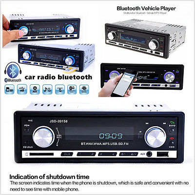 DC12V Car Radio Bluetooth V2.0 MP3 Player FM AUX Handfree-Call & Remote Control Bluetooth 2 Palette