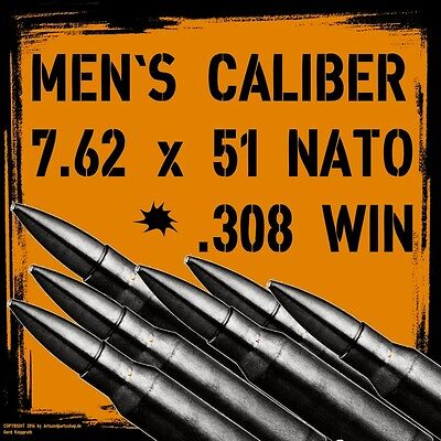 Aufkleber .308Win 7,62x51 NATO G3 Zielscheibe MG Sturmgewehr Softair Paintball