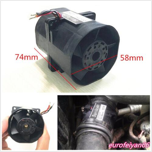 3.2A Car Vehicle 60x60mm Electric Turbine Turbo Double Fan Boost Intake Fans Kit