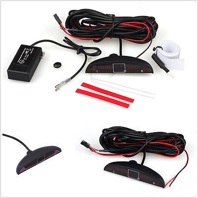 Universal Electromagnetic Auto Reversing Car Parking Radar Sensor w/ Led Buzzer