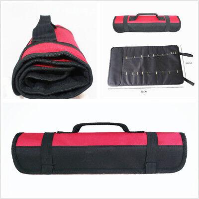Multifunctional Black/&Red Oxford Cloth Car Vehicles Reel Storage Tool Bag Pocket