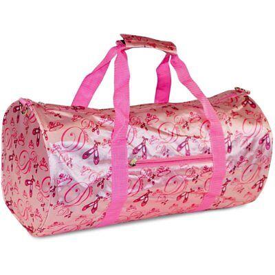 Ballet Shoes Ballerina Dance Duffle Bag Duffel 19-inch Ballerina Duffle Bag
