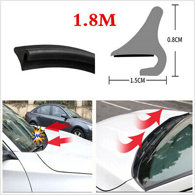 Universal 1.8M Car Hood Roof Front Windshield Sealed Moulding Trim Rubber Strip