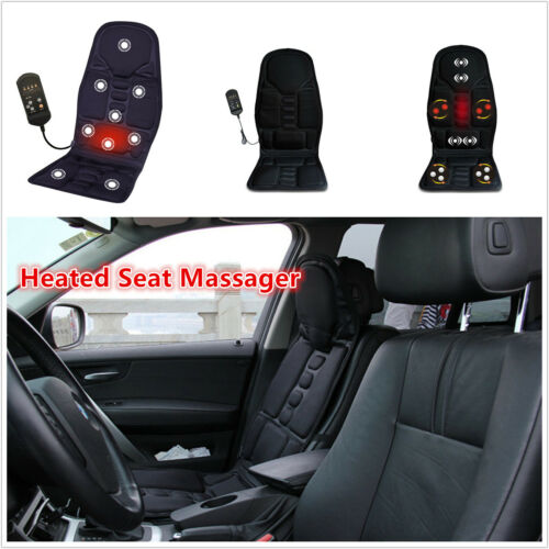 1 ×Car Chair Heated Seat /Cushion Massage Neck Pain Lumbar Shoulder Massager Pad