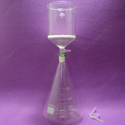 5000ml Filtration Seterlenmeyer Flaskfilter Funnel3lab Filter Set