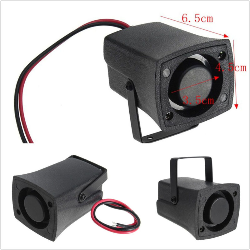 Waterproof Universal Car Reverse Alarm Horn Warn Sound Backup Speaker Siren 12V